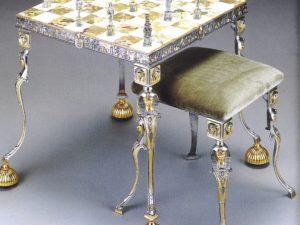 Egyptian Chess Table