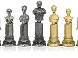 Roman Emperors Chessmen