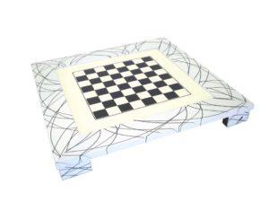 White Chessboard Modern Style