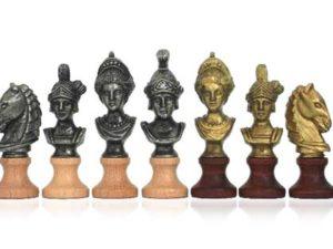 Chessmen Roman's Heads