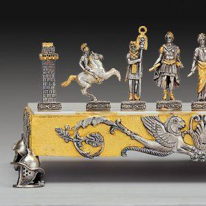 The Roman Empire Chessmen