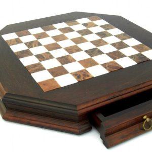 Small Persian Brass Chessboard