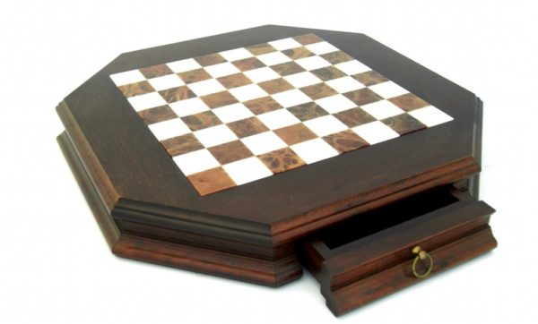 Small Persian Brass Chessboard