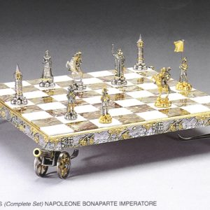 Emperor Napoleon Bonaparte Complete Chess Set(Board And Pieces)