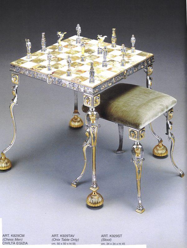 Egyptian Chess Stool