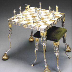 Siegfried Chess Stool