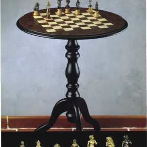 Michelangelo Chess Table