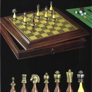Gonzalo MetalHornbeam Arabesque Chessmen