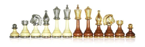 GoldSilver Plated Chessmen