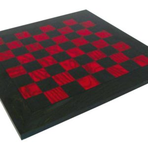 Briar Erable Wood, Green And Red Chessboard