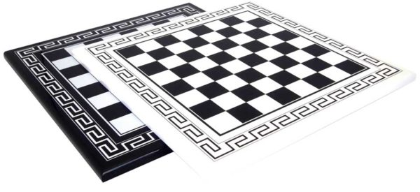 Black Lacquering Wood Chessboard