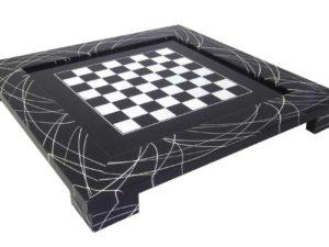 Black Chessboard Modern Style