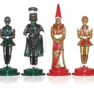 Big Camelot Castle Polychromatic Chessmen