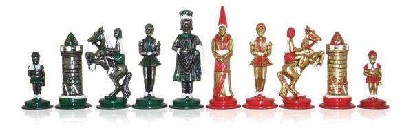 Big Camelot Castle Polychromatic Chessmen