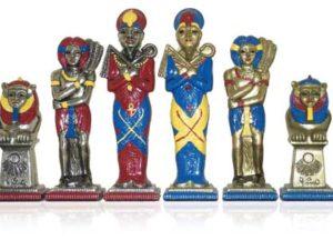 Big Egyptian Polychromatic Chessmen