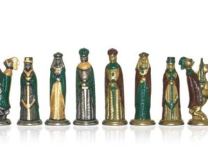 Camelot Mini Polychromatic Chessmen