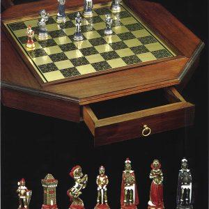 Maria Stuarda Brass Chessboard