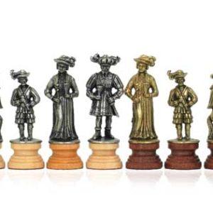 Lansquenettes Castle Chessmen