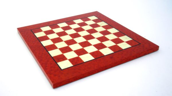 Briar Erable Wood, Red Color (Square 1,9 Inch)