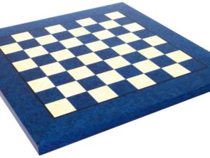 Briar Erable Wood, Blue Chessboard