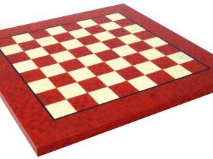 Briar Erable Wood Chessboard, Glossy Finish