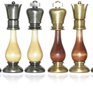 Danton BrassWood Chessmen