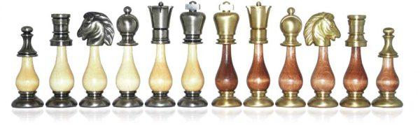 Danton BrassWood Chessmen