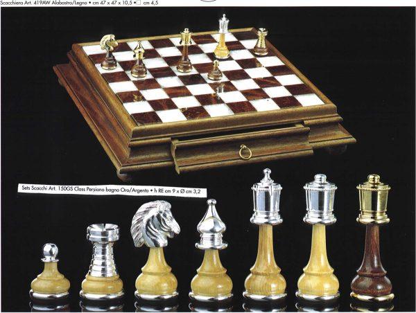 New Persian Class GoldSilver Chessmen