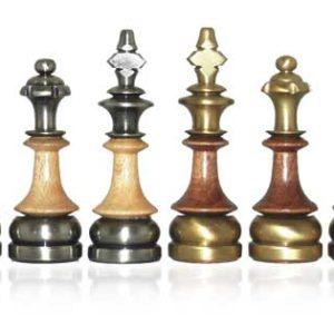 Titanus - BrassHornbeam Chessmen