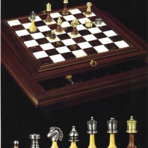 Persian - Inlay Alabaster Chessboard