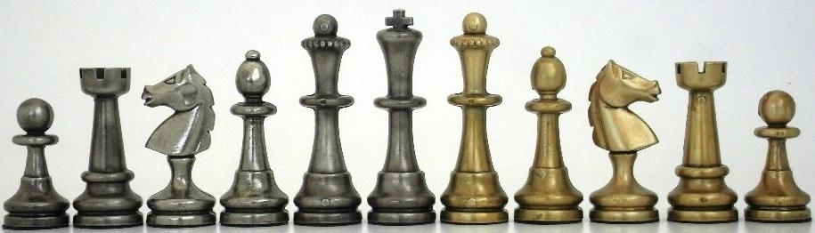 Large Staunton Chessmen