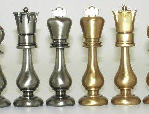Big Orientale Class Brass Chessmen