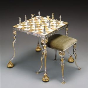 Extra Luxury Chess Men and Tables by Benzoni